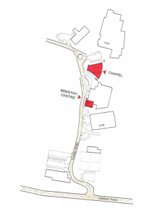 St Peters Indooroopilly Church Map