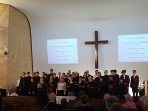St Peters Combined Choir - April 2015